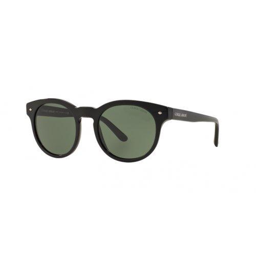 Giorgio Armani Unisex AR8055 Sonnenbrille, Schwarz (Black 501731), One size (Herstellergröße: 51)