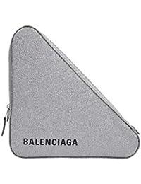 Balenciaga Mujer 4769760XV128160 Plata Cuero Clutch