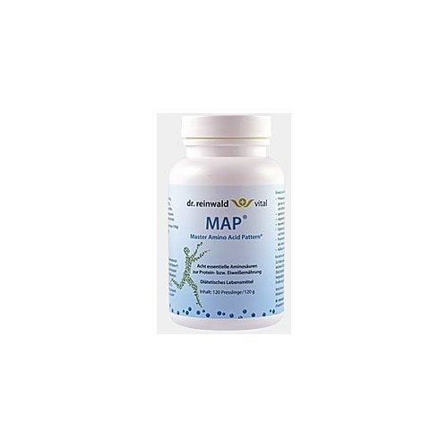 MAP Aminosäuren 360g (3 Dosen x 120g) Tabletten