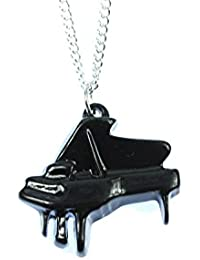 Alas conciertoya alasconstellation Piano collar de cadena de Música negro Miniblings