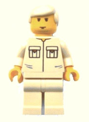 LEGO Star Wars : Minifigur Luke Skywalker mit beigen Beinen und dem seltenen Luke-Kopf von - Lego Skywalker Wars-luke Star