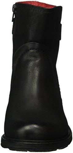 Buffalo Es 30836 Singapura, Bottes Classiques femme Noir - Schwarz (PRETO 01)