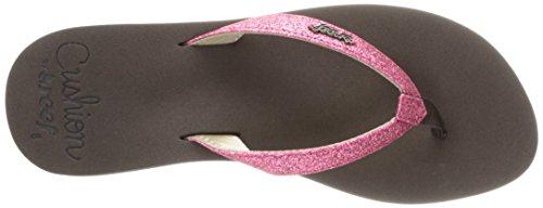 Reef - Star Cushion, Sandali eleganti  da donna Marrón (Brown/Hot Pink)