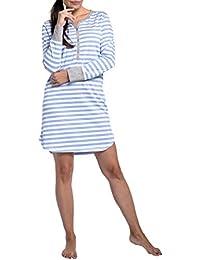 Zhhlaixing Elegante Stripe Vestido de Lactancia Maternidad Embarazadas Ropa - Mujer Casual Vestido de Premamá Manga