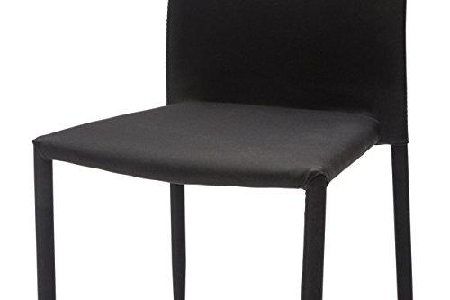 White loft set di sedie metallo nero cm soluzione