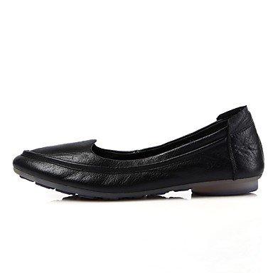Confortevole ed elegante piatto scarpe donna Appartamenti Primavera Estate Autunno Comfort Casual in pelle tacco piatto altri marrone Nero Grigio bianco altri White