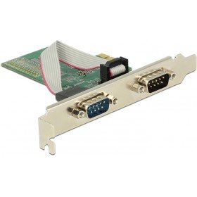 DeLock PCI Express Karte > 2 x Seriell RS-232 -