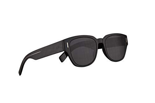 Dior Christian Homme DiorFraction3 Sonnenbrille Schwarz Mit Grauen Gläsern 50mm 8072K Fraction 3 Fraction3