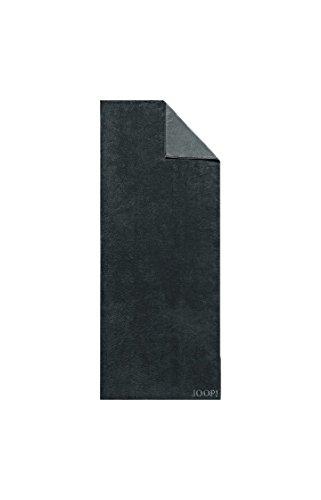 JOOP! - Frottier Handtuch in verschiedenen Größen und Farben, Classic Doubleface (1600) , Größe:Strandtuch (80 x 200 cm), Dessin:Schwarz (97)
