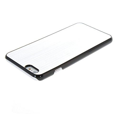 MOONCASE Metal Aluminium Cover Housse Coque Etui Case pour Apple iPhone 6 Plus Vert Sliver