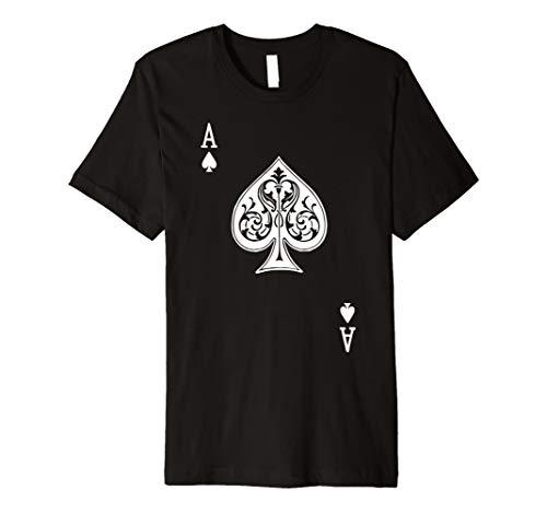 Pik Ass Pique As Ace of Spades T-Shirt -