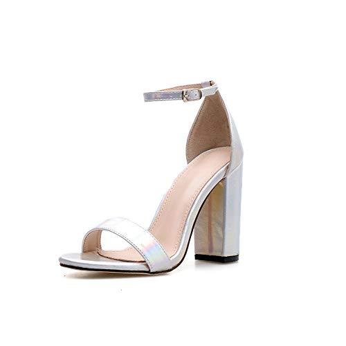 95e075b6 Zapatos De Tacón Microfibra De 11,5 Cm para Mujer De Europa Y América,