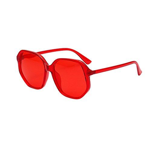 Battnot☀  Sonnenbrille für Damen Herren, Unisex Vintage Square Frame Shades Integrierte UV-Gläser Sonnenbrillen Männer Frauen Retro Billig Cat Eye Sunglasses Super Coole Fashion Women Travel Eyewear