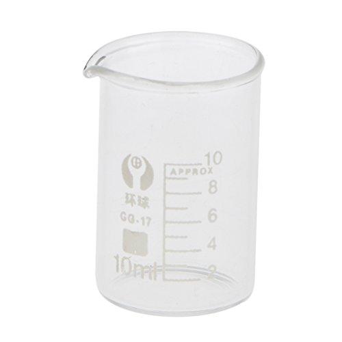 Vaso de Laboratorio de Química Jarras Medidores Cristal Vaso Graduada Bajo -...