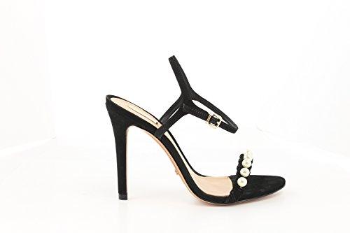 Schutz 13870639, Sandales femme Noir (Black)