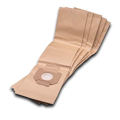 vhbw 5 Staubsaugerbeutel Filtertüten aus Papier für Staubsauger Makita 446 LX, 447 L, 447L, LX, M, MX