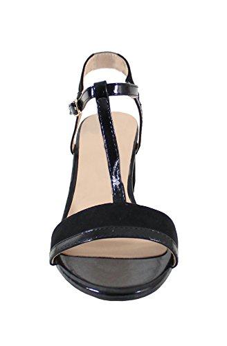 By Shoes Sandale Style Daim - Femme Black