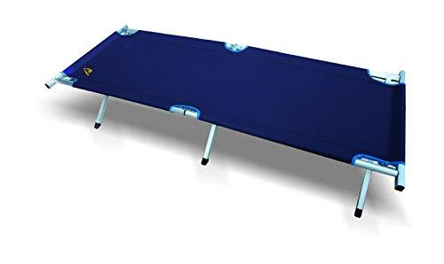 Best Camp 44132, Brandina da Campeggio Unisex-Adulto, Blu Scuro, 189 x 64 x 42 cm