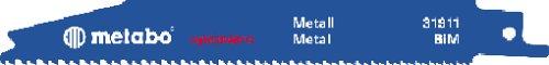 Preisvergleich Produktbild Metabo 2 Säbelsägeblätter Pionier 2 BIM 150 x 0,9, 631911000
