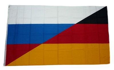 Fahne / Flagge Deutschland / Russland NEU 90 x 150 cm