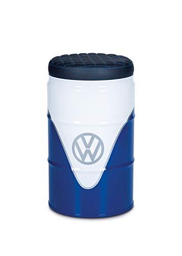 Brisa vw collection vw t1 bus sgabello - barile per petrolio - bianco/blu