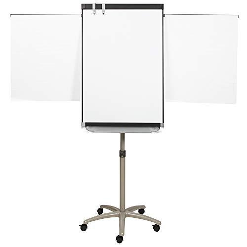 Quartet Staffelei, magnetisches Whiteboard/Flipchart, 3'x 2', Prestige 2Mobile Präsentation, graphit (ecm32p2)