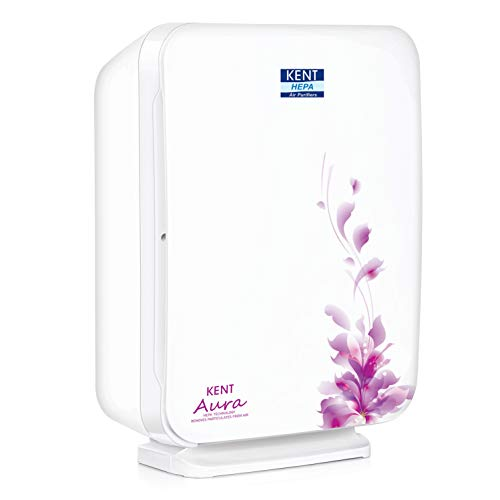 KENT Aura Room Air Purifier 45-Watt with HEPA Technology (White)
