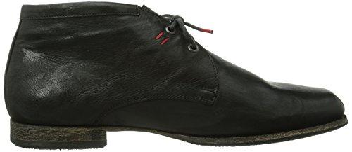 Think  Guru, Chaussures de ville à lacets pour homme Noir - Schwarz (SCHWARZ-00)