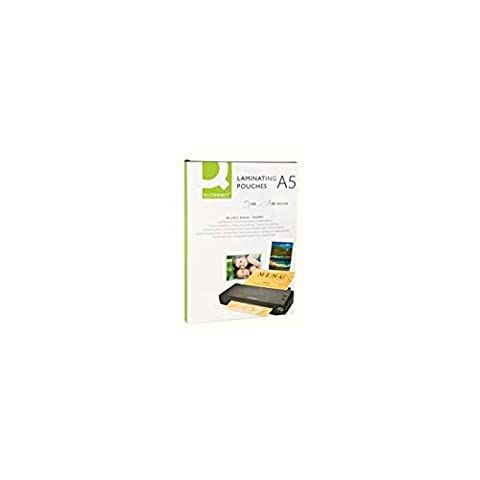 Q Connect A5 80 Micron Laminating Pouch (Pack of 100)
