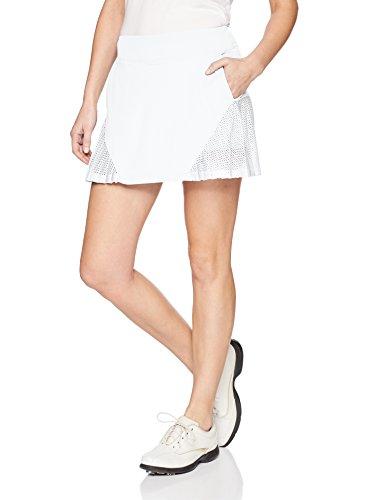 Under Armour Damen Links Strick Mesh Skort Kurze Hose White XL