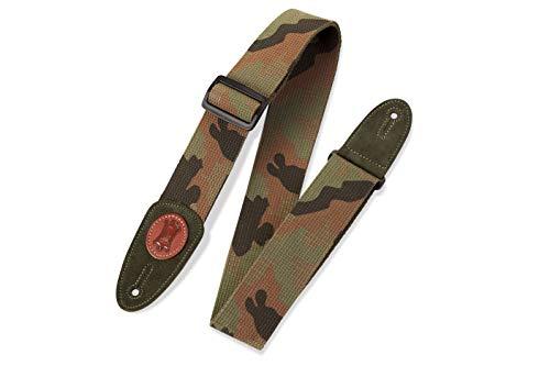 Levy's Leathers MSSC8 Gitarrengurt (Baumwolle, 5,1 cm) 0 NA camouflage -