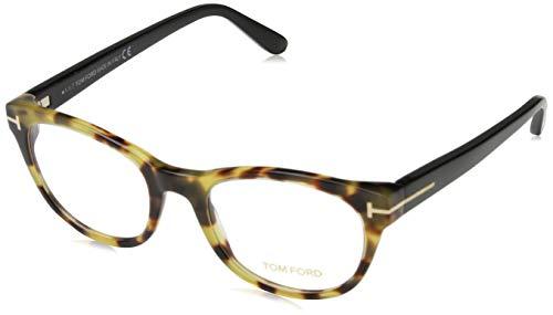 Tom Ford Unisex-Erwachsene Brille Ft5433 056 51 Brillengestelle, Braun,