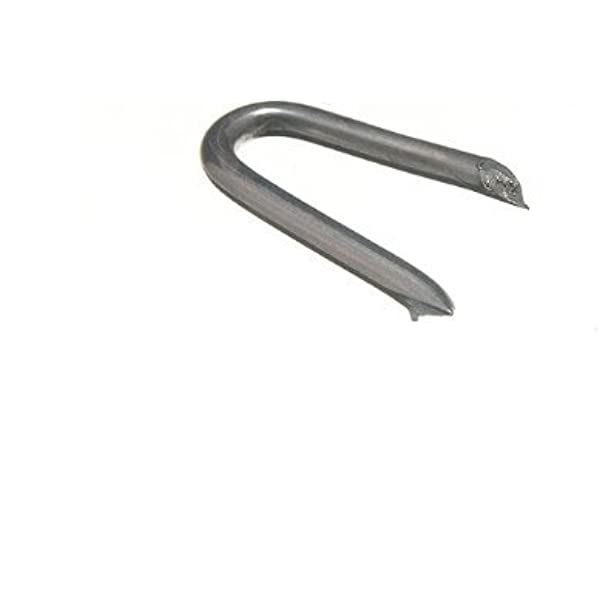 Galvanised U Nails Netting 30mm Staples For Fencing Post Chicken Wirepack of 50