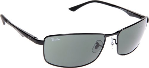 Ray-Ban Herren Sonnenbrille RB3498, Schwarz, Gr. 64