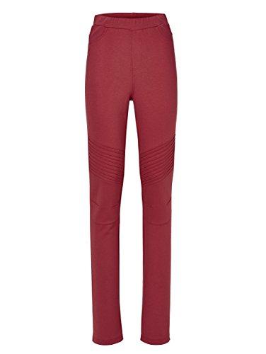 Damen Jerseyhose Lotta slim by KLiNGEL Kaminrot