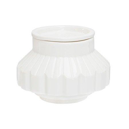 SELETTI 'Récipient en Porcelaine C/COP. Machine Collection Ø cm.16 H.13,5
