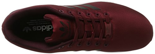 adidas Zx Flux, Scarpe Running Unisex – Adulto Rosso (Collegiate Burgundy/core Black/ftwr White)