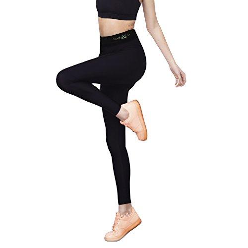 Body&Co Legging Sportivo Emana a Vita Alta (L/XL)