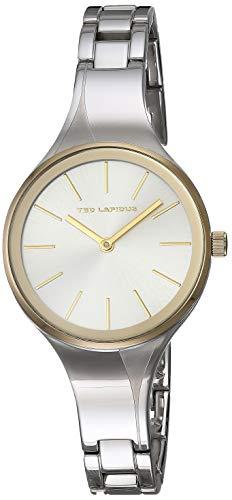 Ted Lapidus Classic Reloj de Mujer Cuarzo Correa y Caja de Acero B0212ABNX