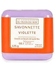 Savon Karité parfumé à la Violette - 125gr