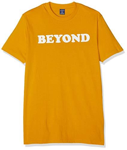 Springfield FR Transfer Beyond Camiseta, (Gama Amarillos 6), Small (Tamaño del Fabricante:S) para Hombre