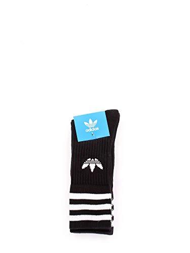 Adidas Socken Solid Crew 12er Pack, Größe:35-38;Farbe:Black / White (21490)