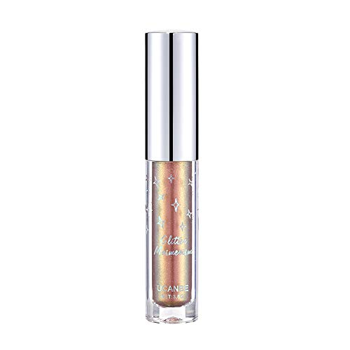 Ombre à paupières Liquide Metallic Beisoug Glow Glow Glitter Eyeliner Gel cosmétique pour des Yeux durables