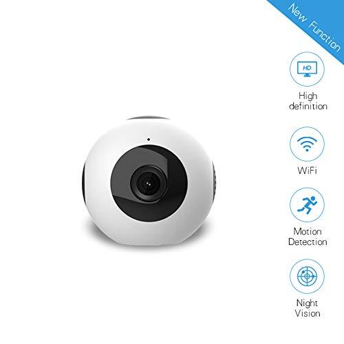 SPFPEN Grabación de Seguridad de conducción Circular Inteligente WiFi Mini acción de la cámara 720P Noche de detección de Movimiento visión de HD cámara de vídeo IP