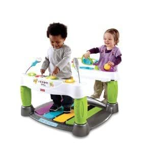 enfant jeu Fisher-Price Little Superstar Step N' Play Piano w/ Combination of Fun Songs, Sound Effects & Lights jouet joujou