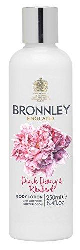 Bronnley Lotion Pour le Corps Pivoine Rose et Rhubarbe 250ml