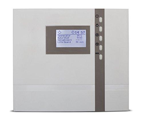 Preisvergleich Produktbild EOS Saunasteuergerät ECON D4,  die technisch am umfangreichsten austgestattete Saunasteuerung der Econ Serie mit vielen Funktionen,  inkl Temperaturfühler