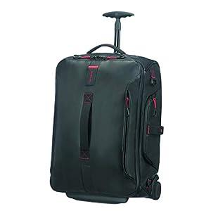 Samsonite Paradiver Light Duffle with Wheels Backpack 55 cm, 51 L, Black