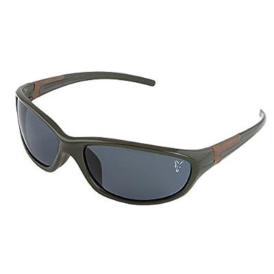 Fox XT4 Sunglasses Polbrille - schwarzer Rahmen graue Gläser - CSN032