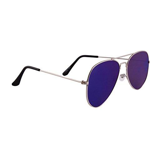 Lavish Blink Aviator Sunglasses (Silver) (LB-SG-1225)